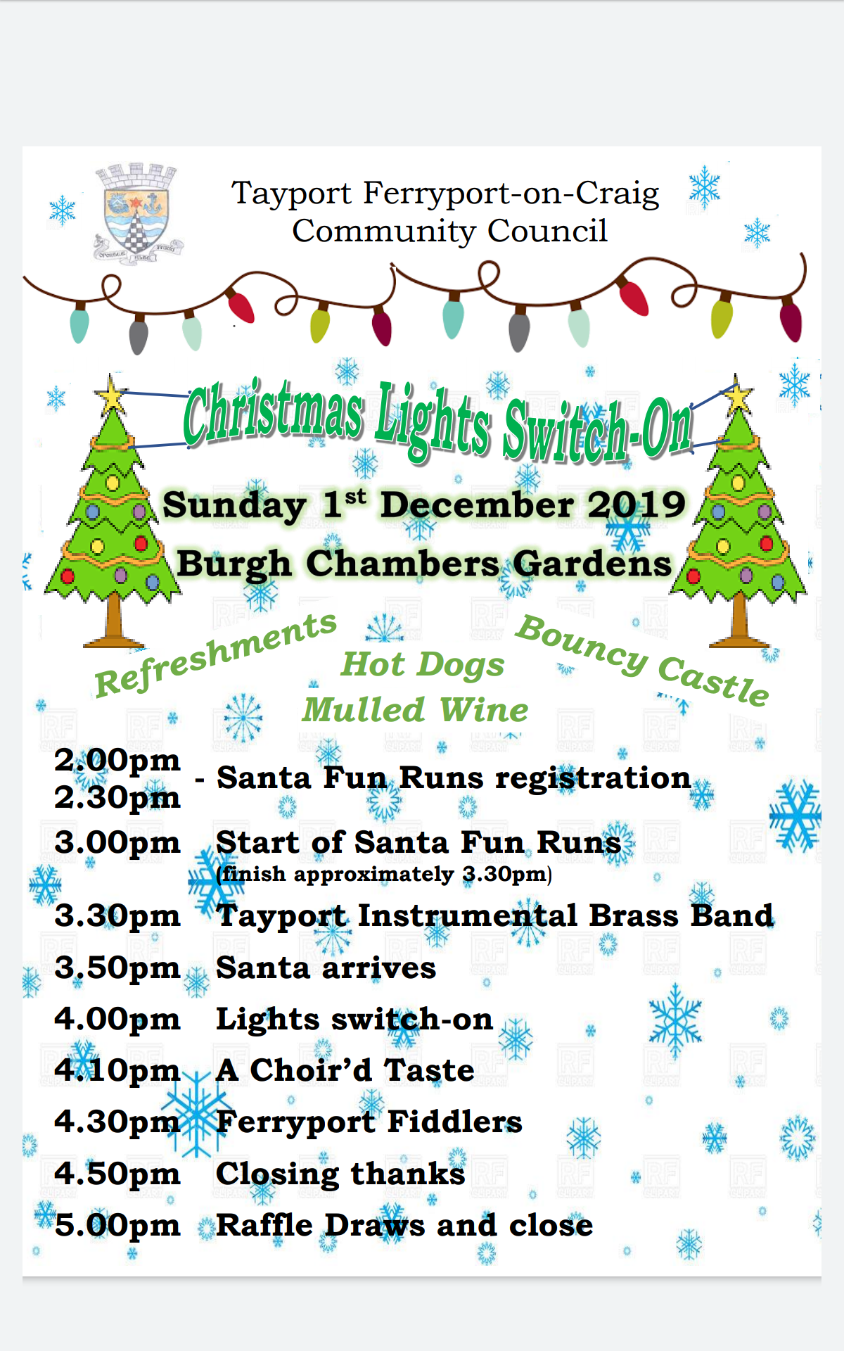2019 Lights Switch On poster